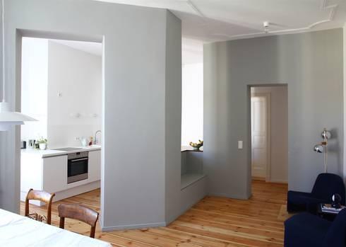 umbau gr nderzeitwohnung prenzlauer berg von studioinges architektur und st dtebau homify. Black Bedroom Furniture Sets. Home Design Ideas