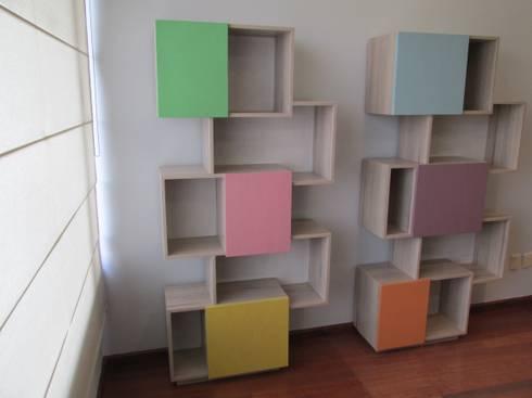 Cuarto de juegos para niños: Habitaciones infantiles de estilo  por ARTTRE FURNITURE DESIGN