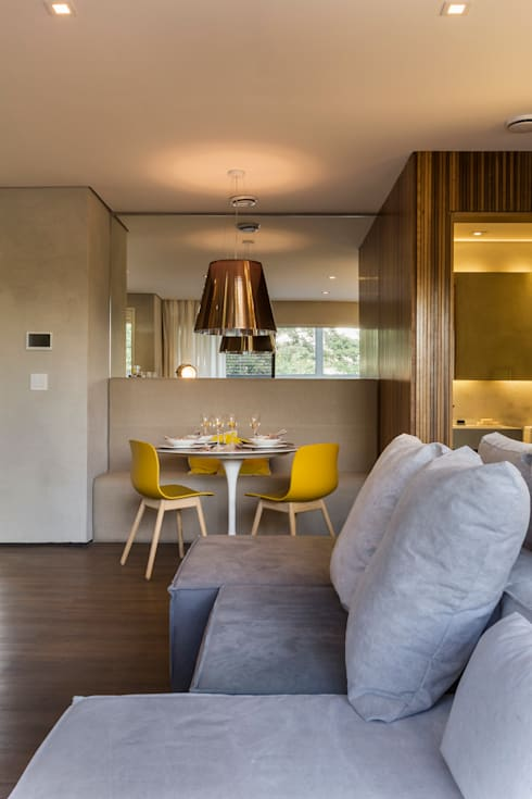 Just Married: Salas de jantar modernas por Studiodwg Arquitetura e Interiores Ltda.