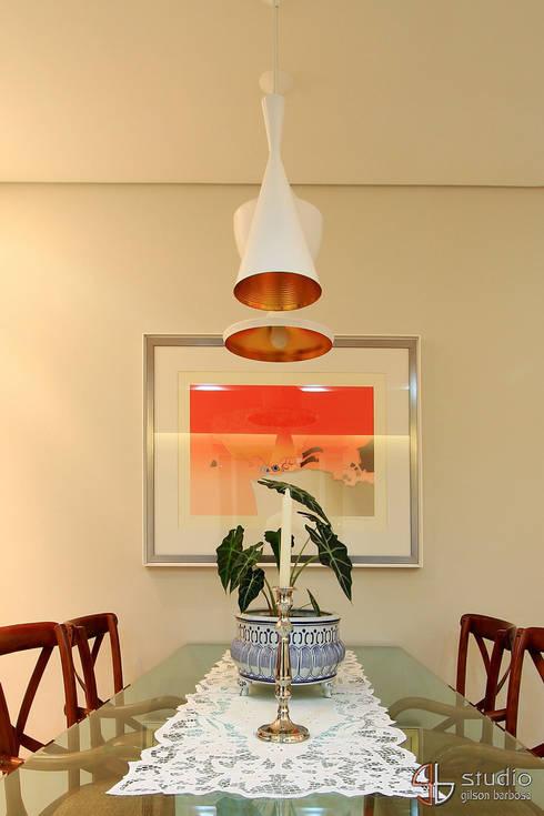 Sala de Jantar: Arte  por Camila Tannous Arquitetura & Interiores