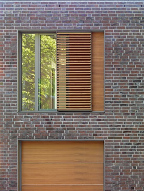 Detail Fenster: moderne Häuser von KITZMANN ARCHITEKTEN