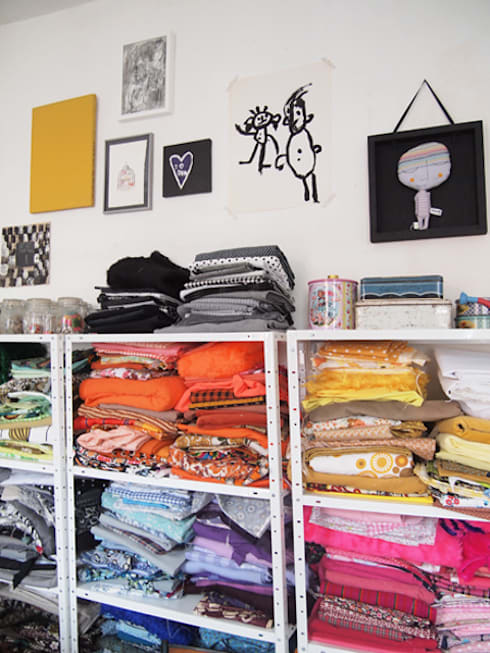 Les tissus: Chambre d'enfants de style  par ZUT!