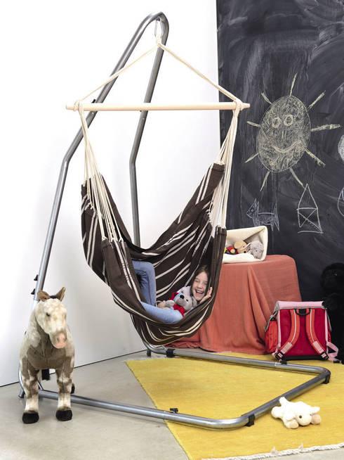 Fotel wiszący Brasil  Mocca marki Amazonas: styl , w kategorii Pokój dziecięcy zaprojektowany przez Sklep Internetowy Kiddyfave.pl