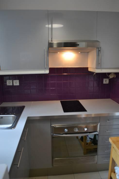Home Staging cuisine Après:  de style  par VALORIDOM