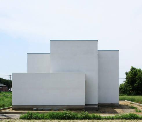 ホワイトキューブ: パパママハウス株式会社が手掛けた家です。