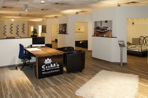 suma wasserbetten gmbh ausstellung homify. Black Bedroom Furniture Sets. Home Design Ideas