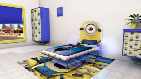 Minion MESO: modern Bedroom by Levitas Design