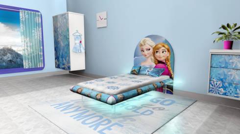 Frozen MESO: modern Bedroom by Levitas Design