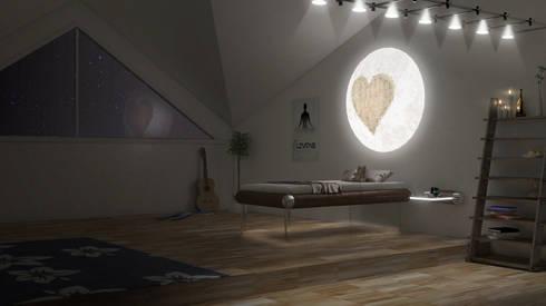 Teen MESO Night: modern Bedroom by Levitas Design