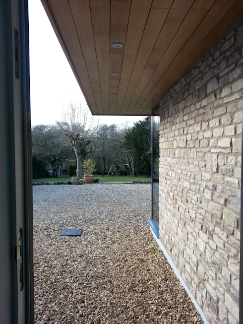 Chilcompton - house extension and remodelling: modern Garden by Fit Architects