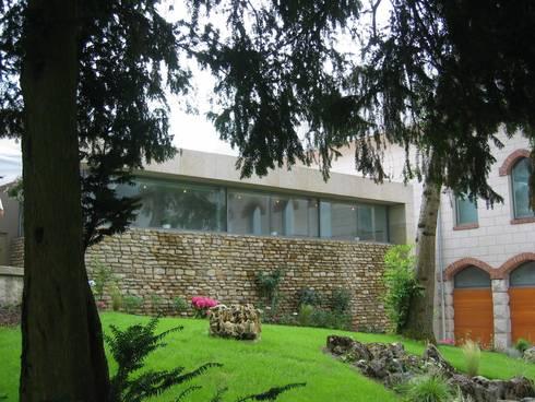 chateau corbin liverdun par atelier d 39 architecture sylvain giacomazzi homify. Black Bedroom Furniture Sets. Home Design Ideas