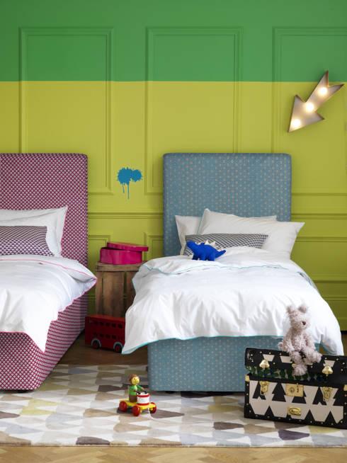 Samphire Twin Divans:  Bedroom by Button & Sprung