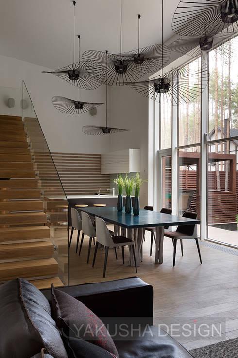 Кухни в . Автор – Yakusha Design