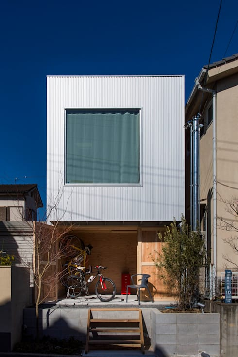 ファサード: アトリエセッテン一級建築士事務所が手掛けた家です。
