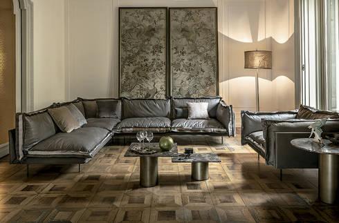 Sofá Auto-reverse de Arketipo: Salones de estilo moderno de XETAI ALTZARIAK