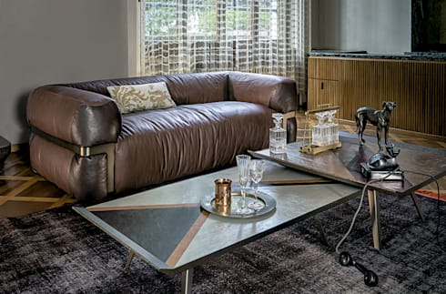 Sofá Lotus de Arketipo: Salones de estilo moderno de XETAI ALTZARIAK