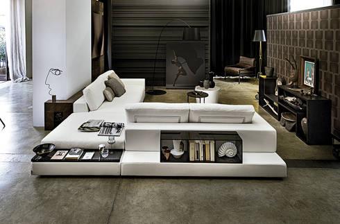 Sofá Plat de Arketipo: Salones de estilo moderno de XETAI ALTZARIAK