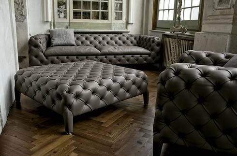 Sofá Windsor de Arketipo: Salones de estilo moderno de XETAI ALTZARIAK