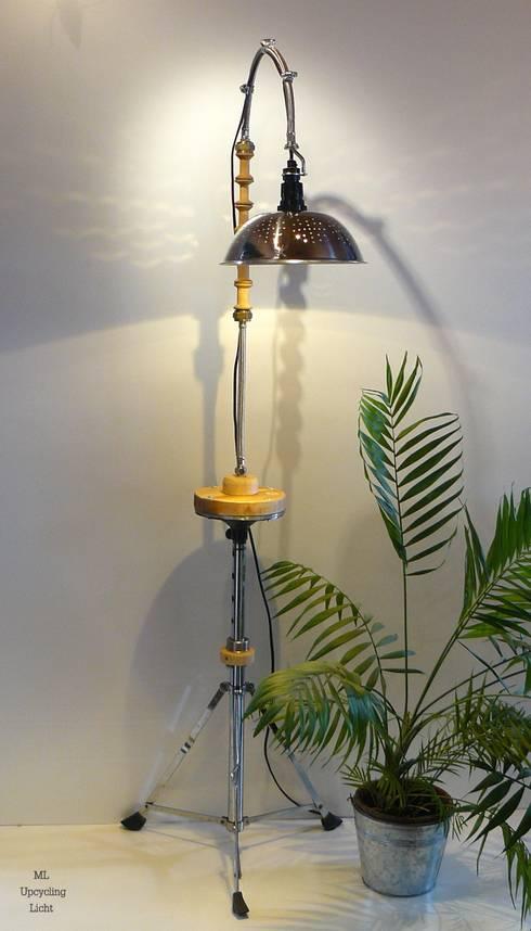 Drumthrone Metamorphose:  Wohnzimmer von ML Upcycling Licht