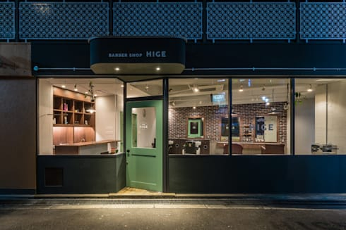 BARBER HIGE: TRANSFORM  株式会社シーエーティが手掛けたオフィススペース&店です。