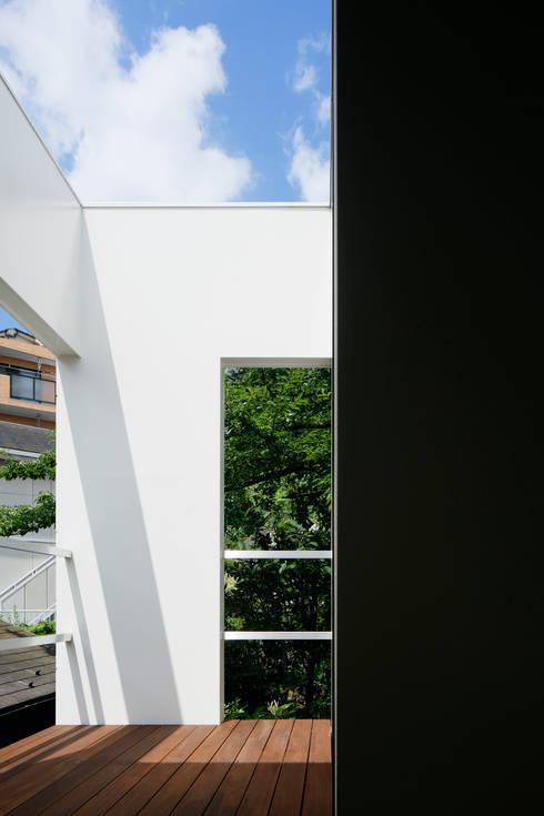 松岡淳建築設計事務所의  정원