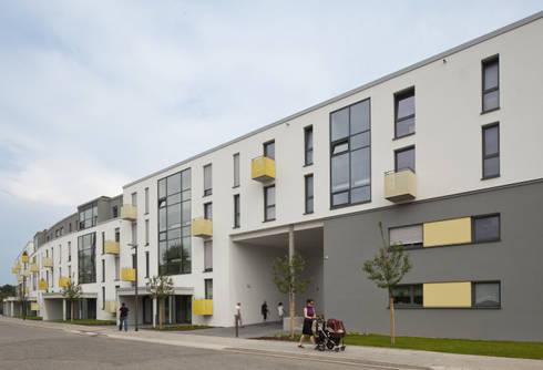 architektur zum leben wohnen im pier 78 in essen von koschany zimmer architekten kza homify. Black Bedroom Furniture Sets. Home Design Ideas