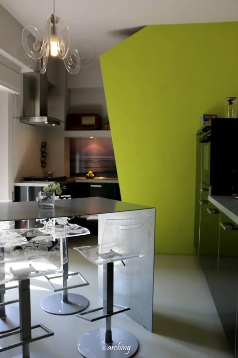 Dopo:  in stile  di Arching - Architettura d'interni & home staging