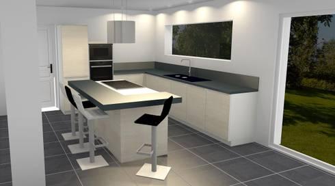 Création et installation d'une cuisine por Inside-M | homify on