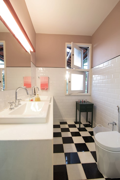 Projekty,  Łazienka zaprojektowane przez Mutabile