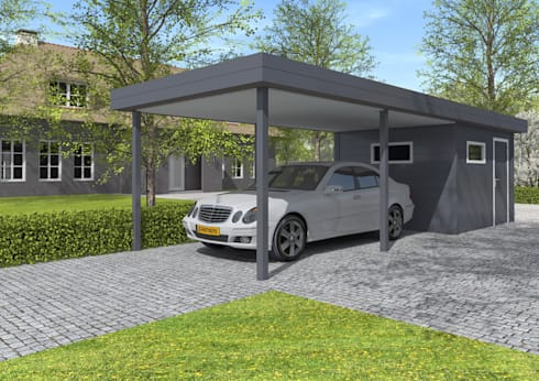 aluminium carports von gardendreams international gmbh homify. Black Bedroom Furniture Sets. Home Design Ideas