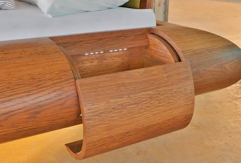 drehbares bett mit integriertem soundsystem by schreinerei. Black Bedroom Furniture Sets. Home Design Ideas