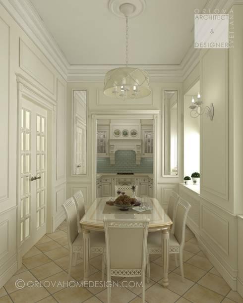 Квартира в Санкт-Петербурге: Столовые комнаты в . Автор – Orlova Home Design