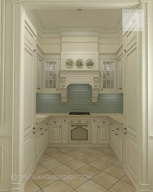 Квартира в Санкт-Петербурге: Кухни в . Автор – Orlova Home Design