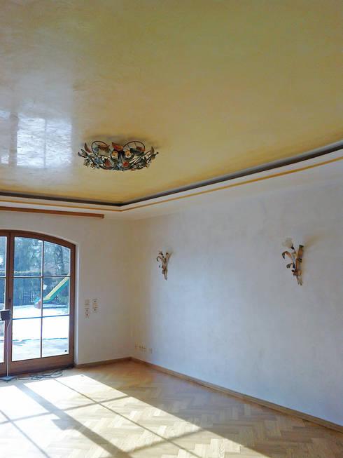 Betonoptik,Spachtel  und Marmorputz:  Wände von Malerbetrieb Maleroy