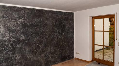 betonoptik spachtel und marmorputz von malerbetrieb maleroy homify. Black Bedroom Furniture Sets. Home Design Ideas