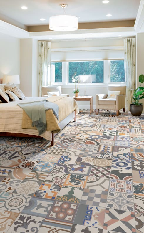 Bedroom by The Baked Tile Company