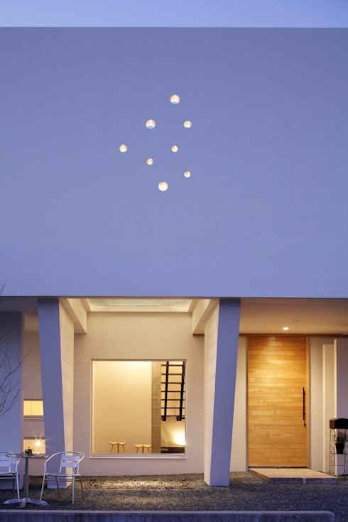 منازل تنفيذ 久保田正一建築研究所
