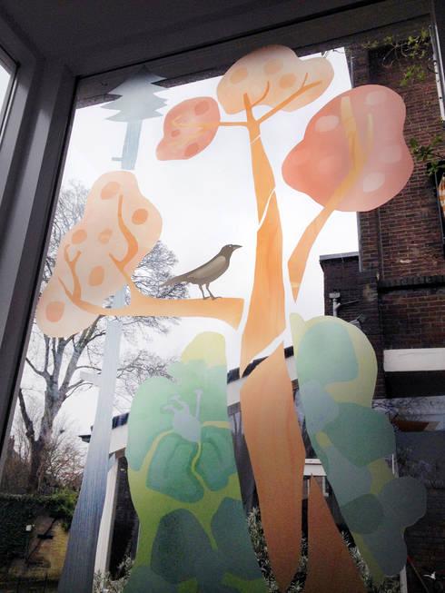 In het wild, foto 1: moderne Slaapkamer door Agnes Loonstra - Nes is More