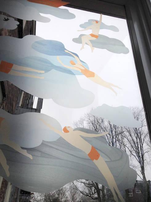 In het wild, foto 3: moderne Slaapkamer door Agnes Loonstra - Nes is More