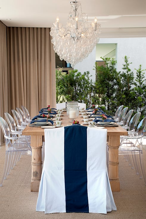 Salas de jantar clássicas por Luciano Teston