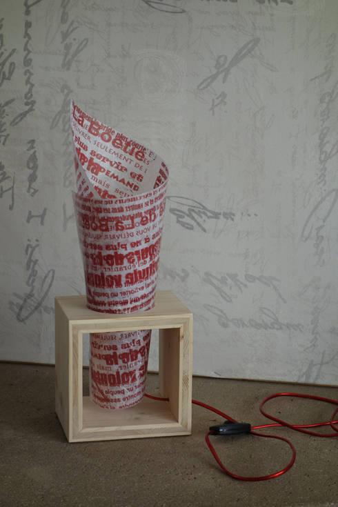 Lampes: Chambre de style  par Zygot'o design