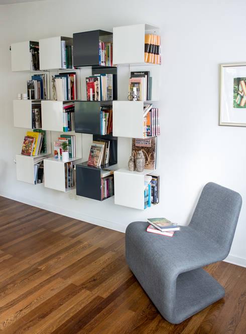 Projekty,  Salon zaprojektowane przez Anne Linde