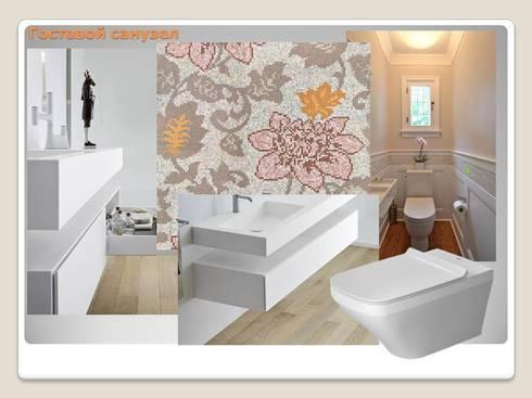 Ванная:  в . Автор – Мастерская дизайна ЭГО