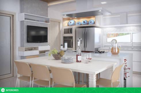 Cozinha: Cozinhas modernas por studio vtx
