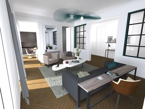 Rénovation d\'un appartement à Lyon par A.S Garde architecte d ...