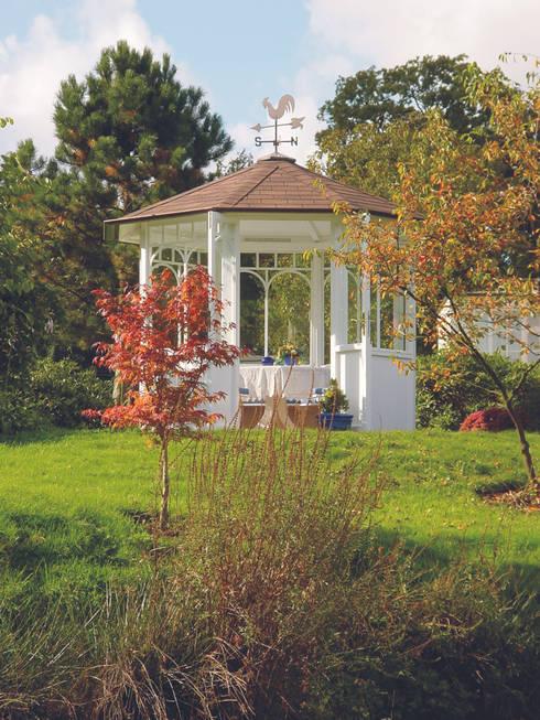 "Der WOGA Gartenpavillon ""Romantic"" ein echtes Allround-Talent:  Garten von WOGA Gartenpavillon"