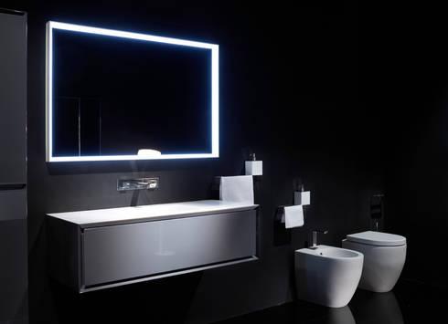 K.One, collezione arredo bagno, versione in Corian di Ri.fra mobili ...