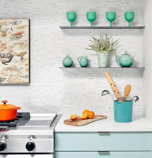 Cocinas de estilo moderno por Hugh Jefferson Randolph Architects