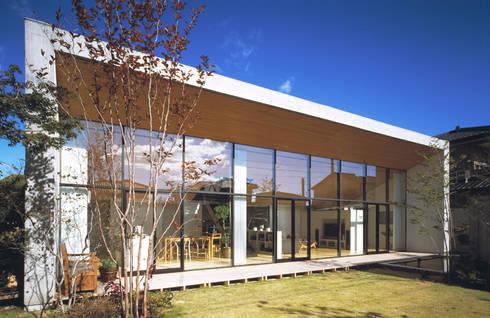 外観: プライム建築都市研究所が手掛けた家です。