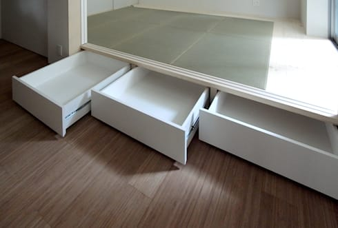 ENCLOSE: 充総合計画 一級建築士事務所が手掛けた多目的室です。